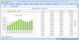 Excel budget spreadsheet personal budgeting software for Budget to actual template