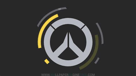 Animated Log Wallpaper - animated overwatch logo wallpaper engine free