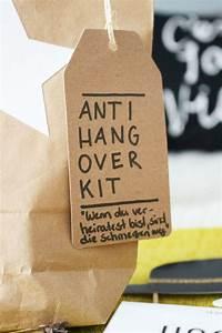 Anti Schling Napf Selber Machen : anti hangover geschenkidee partystories blog ~ Michelbontemps.com Haus und Dekorationen