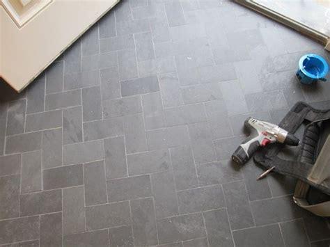 grey herringbone tile this grey tile in the beautiful herringbone pattern
