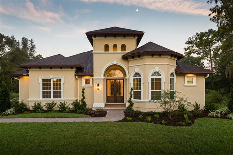 Luxury Home Plans With Pictures by San Angelo Mediterranean Luxury House Plan Dostie Homes
