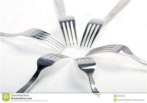 cuisines as abstract fork background as a food concept stock