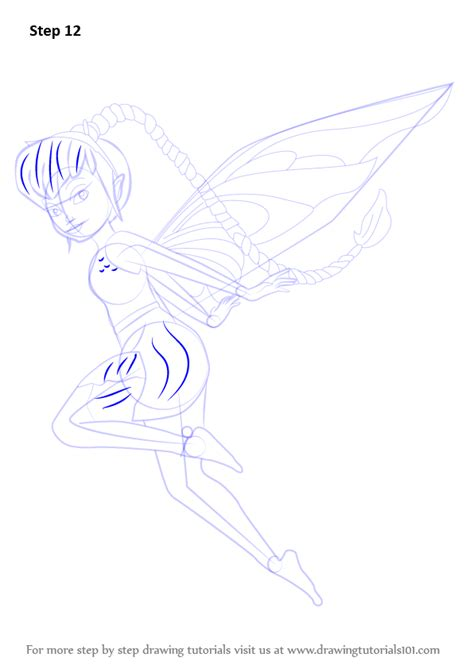 learn   draw fawn  tinker bell tinker bell step