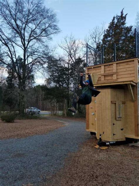 adventure tiny house  zipline tinyhouse  sale