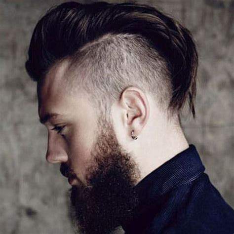 disconnected undercut haircuts hairstyles  men