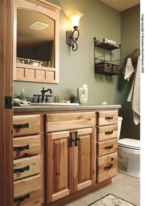 rustic painted kitchen cabinets showplace wood products showplace cabinetry hickory 5017
