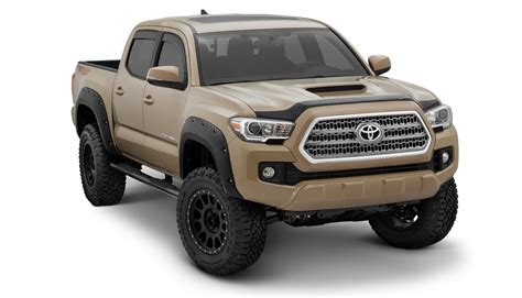 Toyota Tacoma Road Accessories by 2016 Toyota Tacoma Pocket Style Fender Flares 30922 02