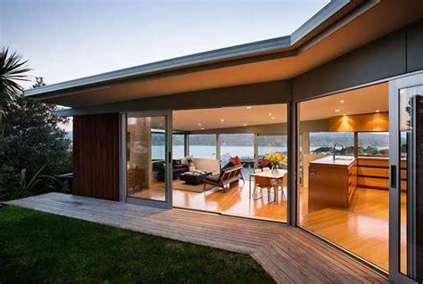 modern house design  decor  green colors emphasizing