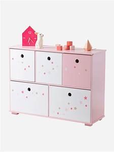 meuble chambre fille With meuble de rangement vertbaudet
