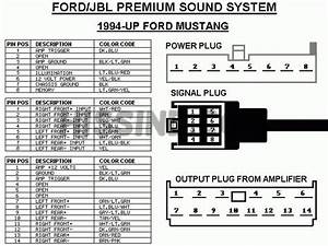 2000 Ford Mustang Stereo Wiring Diagram Schematic