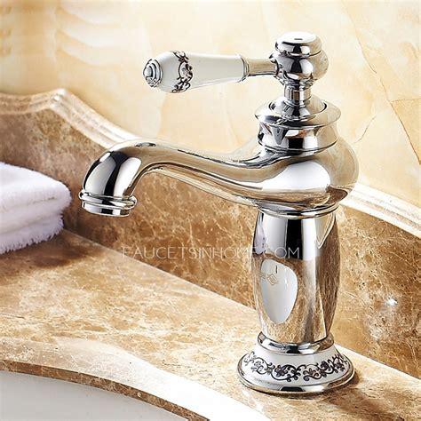 discount vintage chrome copper bathroom sink faucet
