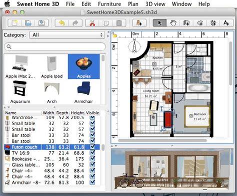 Libreria Sweet Home 3d by Sweet Home 3d 3 7 โปรแกรมออกแบบบ าน 2d และ 3d อย างรวดเร ว