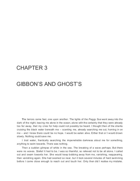 The Open Boat Chapter 7 Summary by Kensuke S Kingdom
