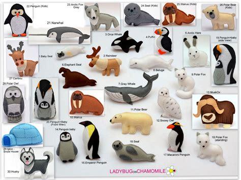 Arctic Animals Ladybugonchamomile