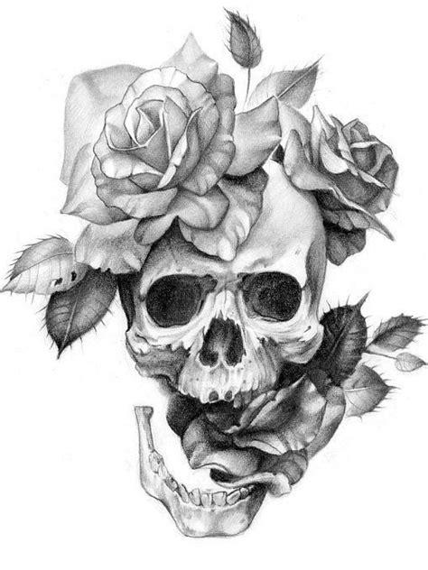 skull  flowers   grow skullflowertattoo bestbestbest tattoo drawings tattoos