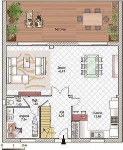 maison en ile de france detail du plan de maison en ile With entree de jardin moderne 6 maison moderne haute performance construction maison