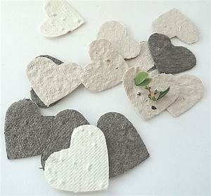 plantable seed paper confetti diy wedding favors place With plantable seed wedding favors