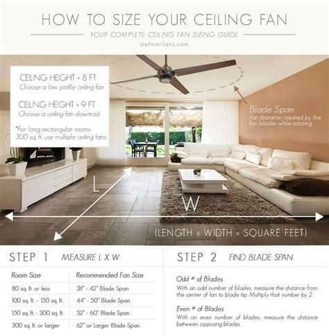 how to size a ceiling fan how to size a ceiling fan what size fan for bedroom