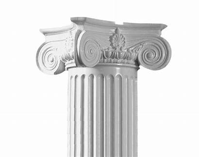 Columns Stone Column Tapered Round Capital Endura