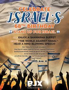 Celebrate Israel 68th Birthday! | Brooklyn Jewish Xperience