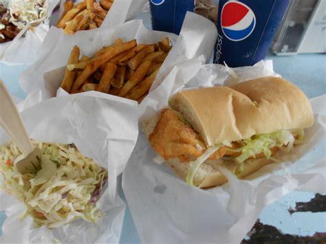 fish wagon key west sandwich fried bo grouper fries restaurants food slaw cole bos