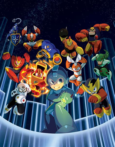 Mega Man Legacy Collection By Thechamba On Deviantart