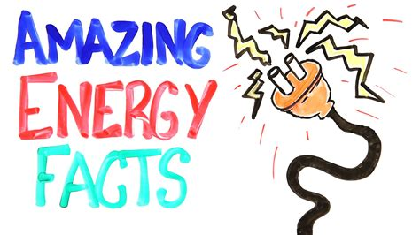 Amazing Energy Facts  Awesome Science