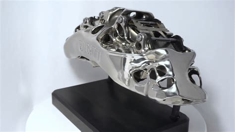 It takes 45 hours to print each caliper, but that's still better than trying to mill them from blocks of titanium. Bugatti develops functional titanium brake caliper from 3 ...