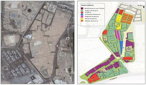 souq waqif heritage site  doha spatial form