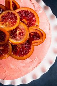 Blood Orange Cake | Girl In The Little Red Kitchen