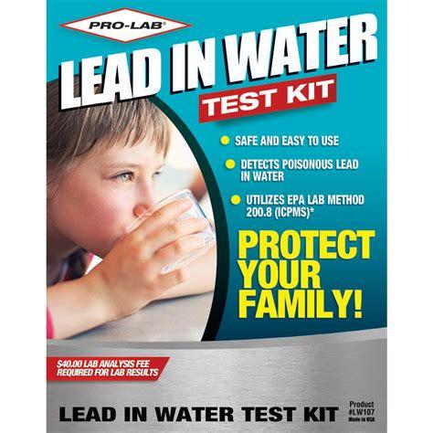 pro lab lead  water test kit lw  home depot