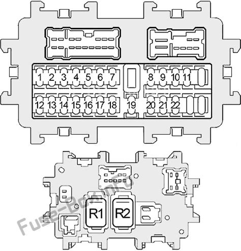 fuse box diagram gt nissan 350z 2003 2008