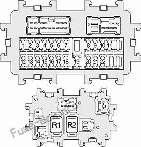 Fuse Box Diagram For A 2004 Nissan 350z