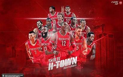 Rockets Houston Nba Wallpapers Playoffs Team Town