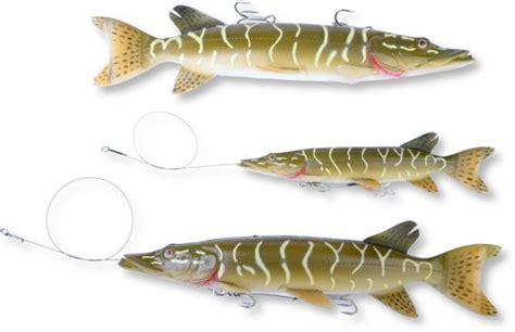 Savage Gear Line Thru Pike & Albino Pike 20cm 66g. & 30cm