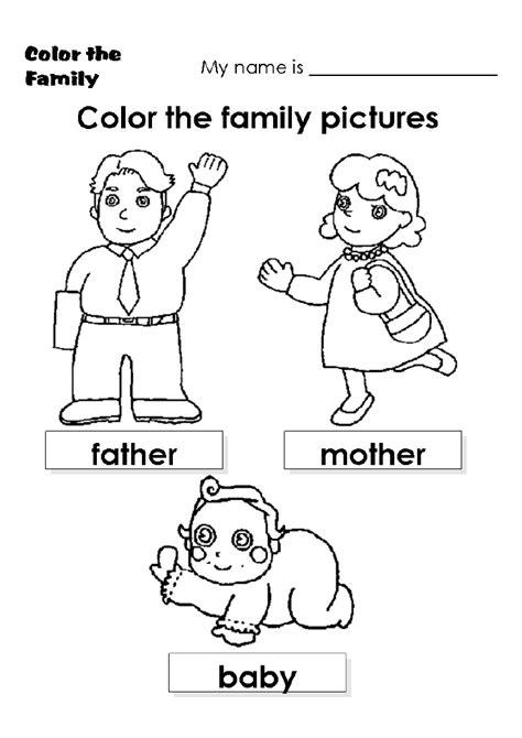color my pictures family colour