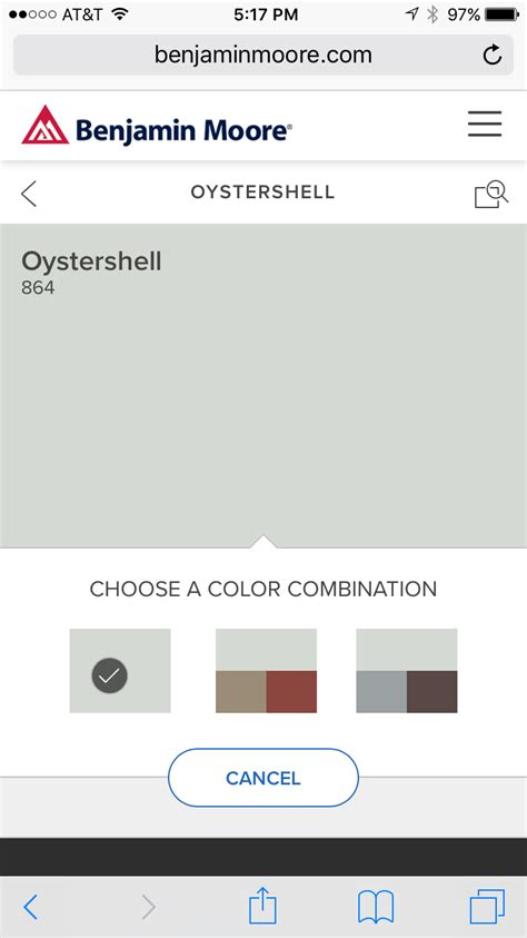 benjamin moore oyster shell 864 paint colors in 2019