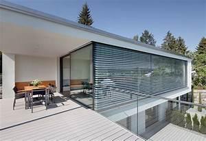 eckfenster mit raffstore fenster pinterest raffstore With garten planen mit jalousien außen balkon