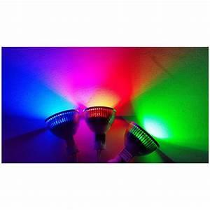 Gu5 3 Led : 12v gu5 3 mr16 blue colour led lamp eurotech lighting nz ~ Edinachiropracticcenter.com Idées de Décoration