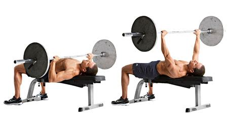 flat bench press incorporate power lifting with whey protein for powerful