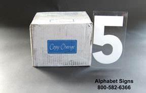 8 inch portable sign letter kit white in stock low With 8 inch portable sign letters