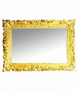 Elegant Arts & Frames Gold Resin Antique Decorative Mirror ...
