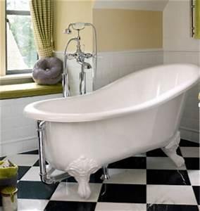 Baignoire Avec Pied : baignoire serre d 39 aigle shr avec pieds nickel brillant ~ Edinachiropracticcenter.com Idées de Décoration