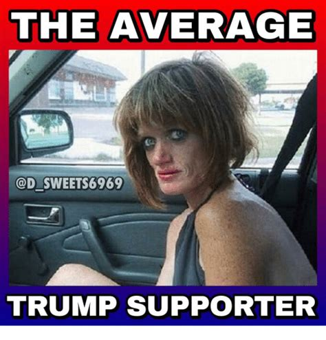 Trump Supporter Memes - the average sweet 6969 trump supporter meme on sizzle