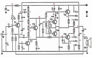 etapa de potencia para 100w With esquema electrico
