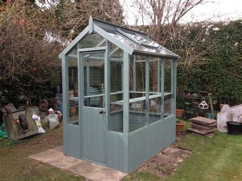 cotswold small  wooden greenhouse  greenhouses