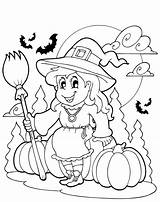Halloween Coloring Printable sketch template