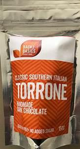 Torrone w/ Handmade Dark Chocolate - Back 2 Basics Traditions
