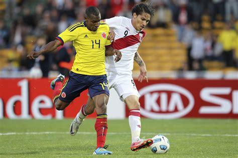 Colombia se enfrenta ante perú en su último amistoso antes de la copa américa 2019 en brasil, que arranca el próximo viernes 14 de junio. Peru vs. Colombia (LIVE STREAM) 18.06.2016