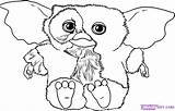 Gremlins Coloring Gizmo Pages Drawing Draw Dragoart Step Mogwai Dessin Sheets Les Printable Silhouette Svg Drawings Coloriage Cartoon Ausmalbilder Cartoons sketch template